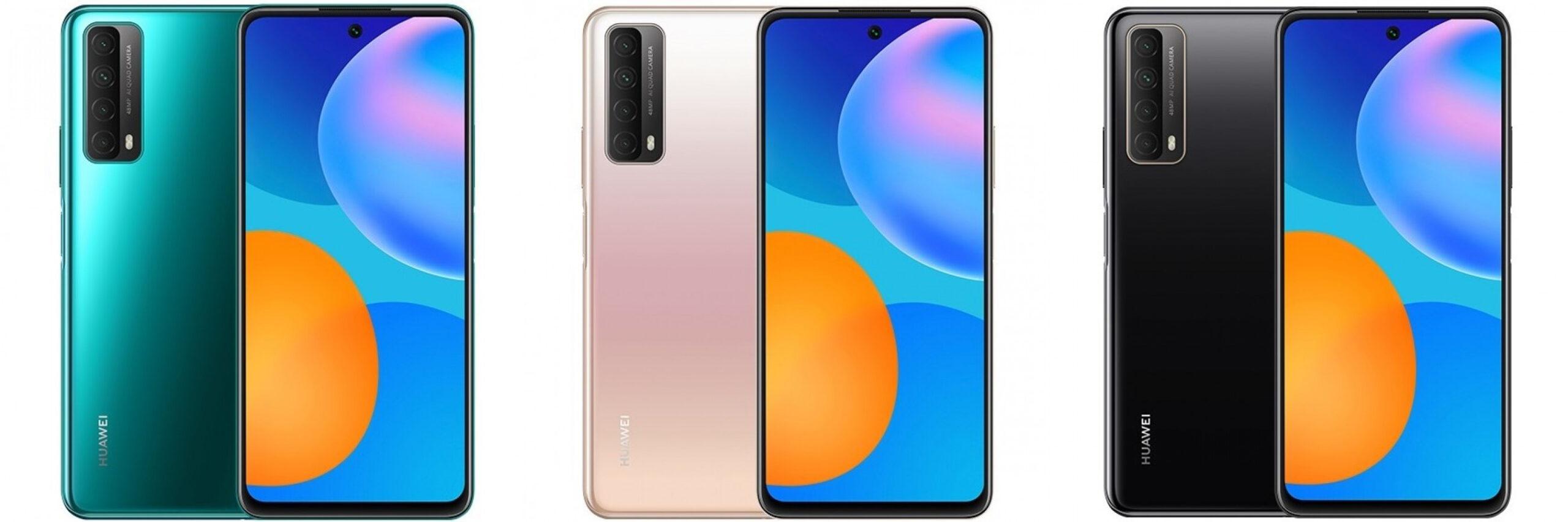 Huawei Y7a  color